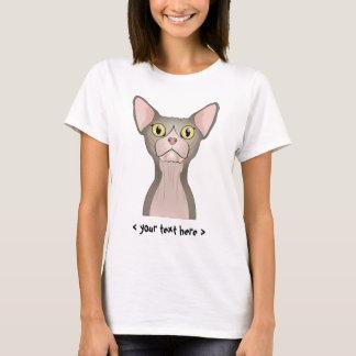 Chat de Sphynx (bicolore) personnalisé T-shirt