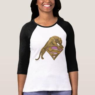 Chat d'or de Supergirl T-shirt