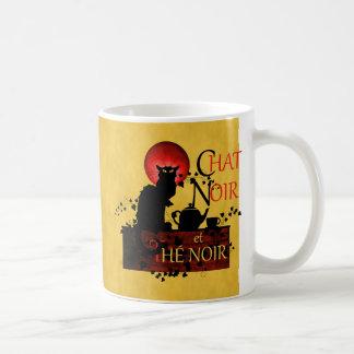 Chat Noir und Thé Noir Kaffeetasse