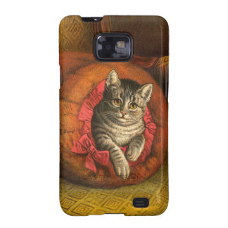 Chat vintage de Kitty Coques Galaxy SII