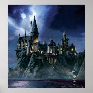 Château de Harry Potter | Hogwarts la nuit