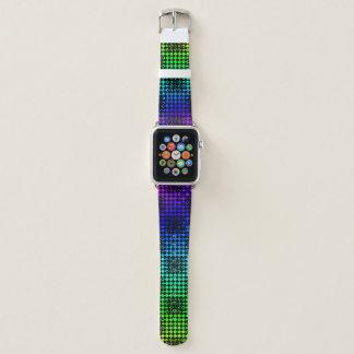 Checkered Drehung durch Kenneth Yoncich Apple Watch Armband