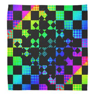 Checkered Drehung durch Kenneth Yoncich Kopftuch