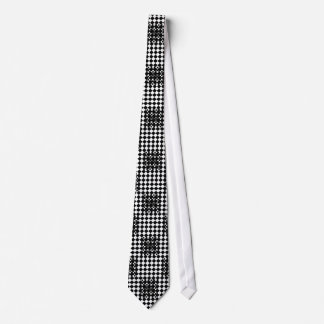 Checkered Drehungs-Krawatte Personalisierte Krawatten