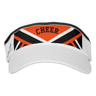Cheerleader-Ausstattung in der Orange Visor
