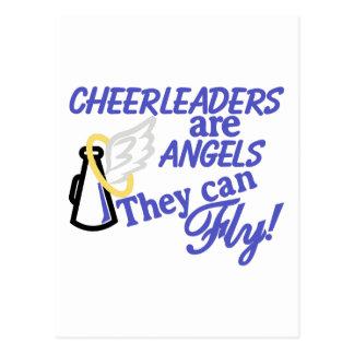 Cheerleadern sind Engel Postkarte
