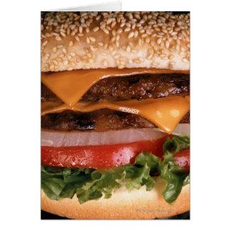 Cheeseburger Karte
