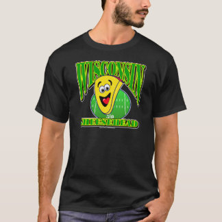 CheeseHead Cartoon 2 T-Shirt