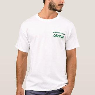 Cheeseheads für Obama T-Shirt