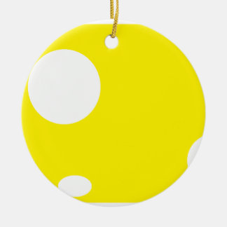 Cheesewheel Verzierung Rundes Keramik Ornament