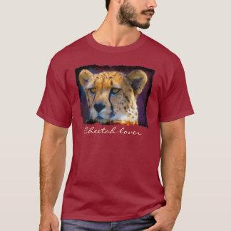 Cheetah-afrikanischer große Katze Tier-Liebhaber T-Shirt