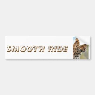Cheetah-glatter FahrAutoaufkleber Autoaufkleber