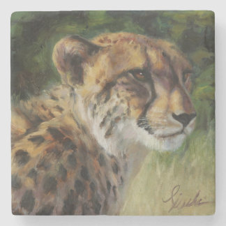 Cheetah-MarmorUntersetzer Steinuntersetzer