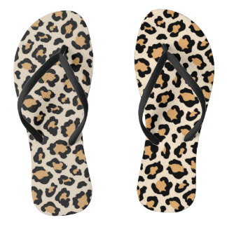 Cheetah-Purzelbäume durch Elle Rose Badesandalen