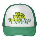 Chef klingt Hut - grüne Kontur Netz Caps