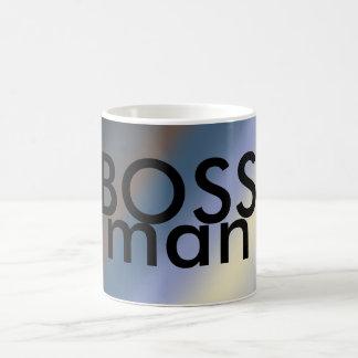CHEF-Mann-Tassensilber/stehlen blaue Mischungen Kaffeetasse