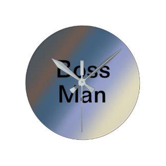 CHEF-Mannsilber/Stahlblau mischt Uhr
