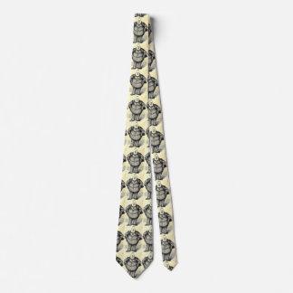 """""""Chef-Tweed"""" Moneybag-politische Individuelle Krawatte"""