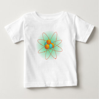 Chemie, Kern, atomar. Urknall Baby T-shirt