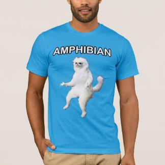 Chemise amphibie de Meme de gardien de pièce de T-shirt