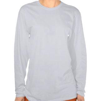 Chemise bleue d'oiseau tee shirts