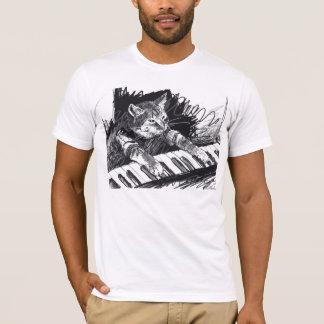 Chemise de dessin au crayon de chat de clavier ! t-shirt