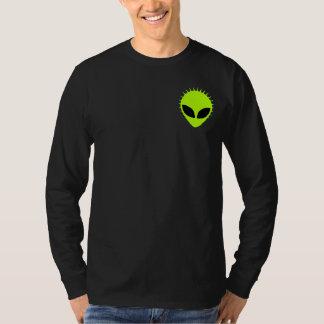 Chemise de douille de Henley de toile étrangère T Shirt
