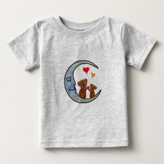 Chemise d'enfant en bas âge de lune de koala t-shirt pour bébé
