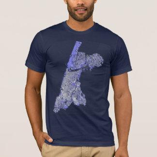 Chemise d'obscurité de Tel Aviv T-shirt