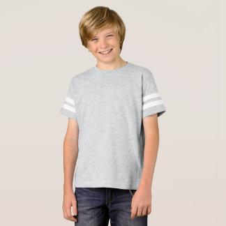 Chemise du football des garçons t-shirt