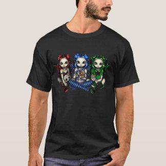 Chemise féerique espiègle et fausse mauvaise t-shirt