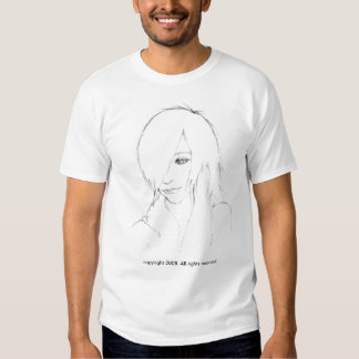 Chemise rayée de fille d'Emo Tee Shirts