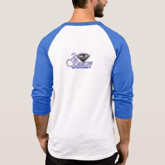 Chemise suave de base-ball du divertissement 2 t-shirts