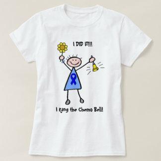 Chemo Bell - Darmkrebs-Frau T-Shirt