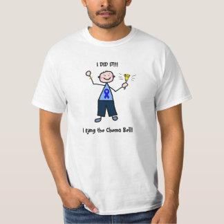 Chemo Bell - Darmkrebs-Mann T-Shirt