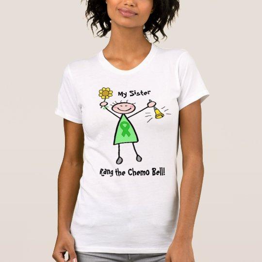 Chemo Bell - Nieren-Krebs-Grün-Band-Frau T-Shirt