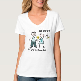 Chemo Paare schellen den Bell-T - Shirt