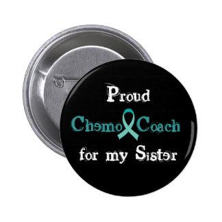 Chemo Trainer-Schwester-Knopf Runder Button 5,7 Cm