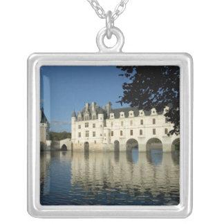 Chenonceau Chateau, Fluss Cher, Loir-et-Cher, 2 Versilberte Kette