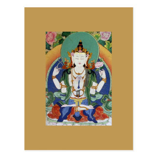 Chenrezig Bodhisattva des Mitleids Postkarten
