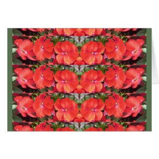 CherryHILL Blumen-Show-Reihen-Girlande NVN218 Karte