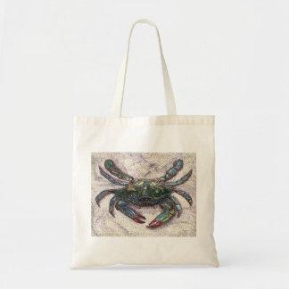 Chesapeake-Bucht-blaue Krabben-Budget-Tasche Tragetasche