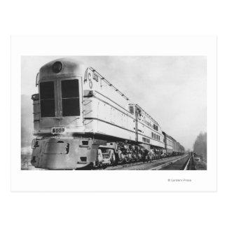 "Chesapeake u. Ohio-Eisenbahn ""500"" Lokomotive Postkarten"