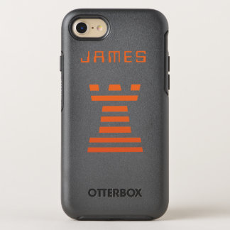 ChessME iPhone addieren Namen OtterBox Symmetry iPhone 7 Hülle