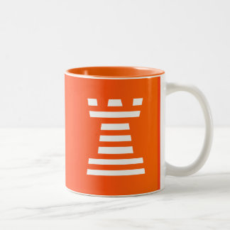 ChessME! Tassen-Weiß Zweifarbige Tasse