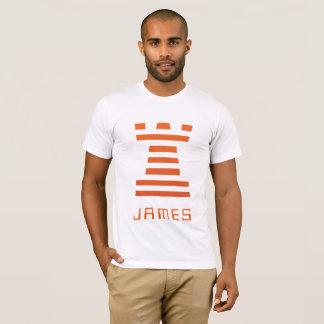 ChessME! Weißes Gegenteil addieren Namen T-Shirt