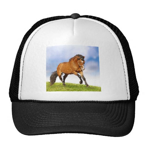 Cheval espiègle casquette