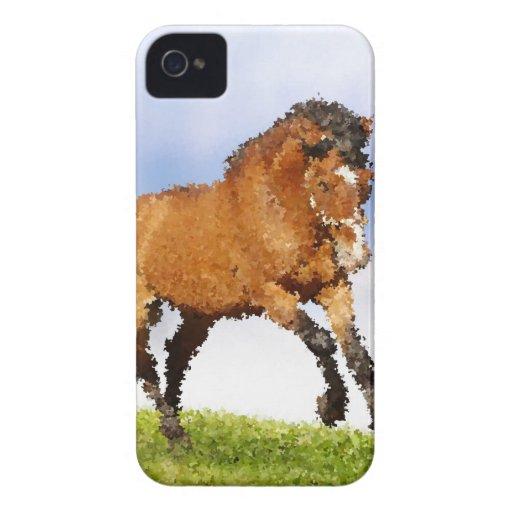 Cheval espiègle étui iPhone 4