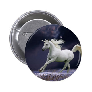 Chevaux d'imaginaire : Licorne Badge Rond 5 Cm