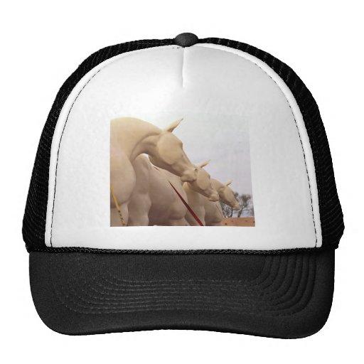 Chevaux non peints casquette